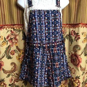 Floral Bib Shorts